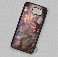 Tangled Painting Disney Rapunzel - Samsung Galaxy S7 S6 S5 Note 7 Cases & Covers