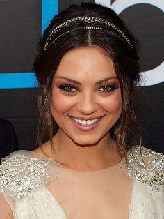 Mila Kunis's Hair and Headband