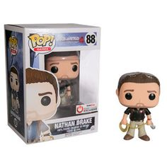 Uncharted 4: Nathan Drake Pop figure by Funko, Gamestop Power Up Rewards exclusive