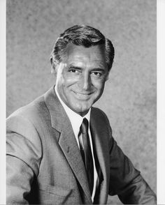 Cary Grant, love his smile, so handsome.