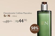 Outras [NATURA] Desodorante Colônia Sr N - 100ml Por R$ 44,90