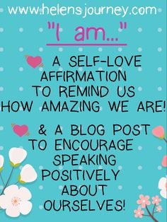 Click to read a self.love affirmation & a reminder about the importance of speaking positively about ourselves too! #selflove #selfcare #selfhelp #affirmation #selfloveaffirmation #selfvalidation #selfworth #selfvalue #speakpositively #bekindtoyourself #loveyourself #iamenough #bekindtoyou #selfkindness Mental Health Blogs, Mental Health Support, Health Resources, Mental Health Problems, Self Value, Christian Meditation, Self Love Affirmations, Blog Online, Educational Technology