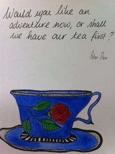 Would you like an adventure now or should we have a cup of tea first? @Suzan van Delft