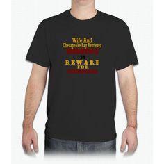 Wife & Chesapeake Bay Retriever Missing - Mens T-Shirt
