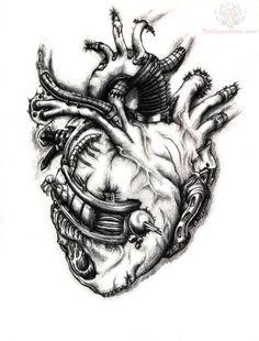74b697b0e I need to learn how to draw that Tattoo Design Games, Biomechanical Tattoo  Design,