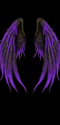 Pin on Drawing / Desenhos Purple Wallpaper Phone, Wings Wallpaper, Black Wallpaper, Dark Angel Wallpaper, Photo Background Images, Photo Backgrounds, Wallpaper Backgrounds, Angel Wings Drawing, Angel Wings Art