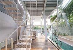 Curious Slanted House In Jakarta Critiques Establishment Architecture