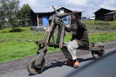 CHUKUDU - wooden bike