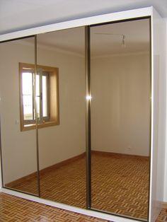 guarda roupas porta espelho bronze - Google Search