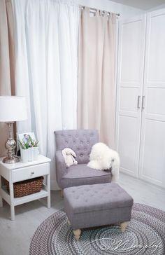 Harmaa ja beige vauvan huone. Mungobaby blogi