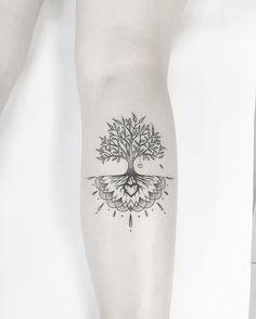 """2,856 Likes, 28 Comments - Carlos Eduardo (@cabelotattoo) on Instagram: """"Árvore da vida Tatuagem elaborada para a amiga Debora Freitas. @cabelotattoo…"""""""