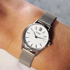 watch silver Quartz