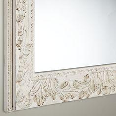 Buy John Lewis Loire Mirror, Cream, H68 x W88cm Online at johnlewis.com