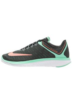Nike Performance FS LITE RUN 4 Laufschuh Wettkampf anthracite/bright mango/green glow/white Sport bei Zalando.de | Obermaterial: Textil/Synthetik, Innenmaterial: Textil, Sohle: Kunststoff, Decksohle: Textil | Sport jetzt versandkostenfrei bei Zalando.de bestellen!