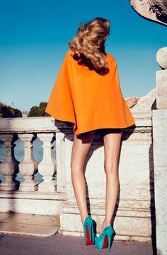 Milagros Schmoll in Paris for Harper's Bazaar Turkey October 2012 by Alexander Neumann