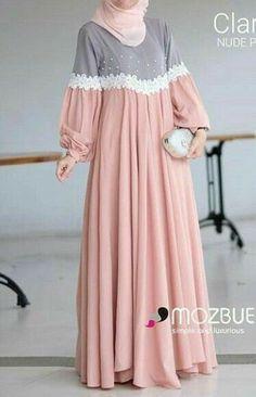 Modest Fashion Hijab, Abaya Fashion, Fashion Dresses, Muslim Women Fashion, Islamic Fashion, Mode Abaya, Mode Hijab, Modest Dresses, Stylish Dresses