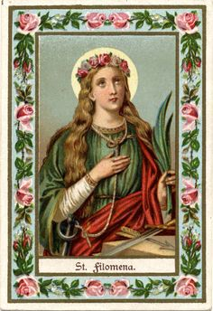 The Different Feasts of St. Philomena: • January 10th: Birthday of Saint Philomena • Sunday after January 10th: Patronage day of Saint Philomena • May 25th: Celebration of the finding of the Holy Body...