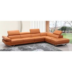 Divani Casa Leather Sectional - http://sectionalsofaspot.com/divani-casa-leather-sectional-594970327/