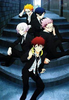 Hamatora #anime #manga