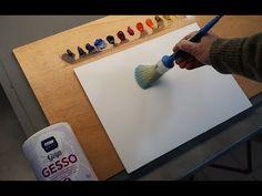 Una imprimación para pintar con óleo o acrílico sobre tabla - YouTube Oil Painting Tips, Acrylic Painting For Beginners, Painting Lessons, Acrylic Painting Canvas, Art Lessons, Art Tutorials, Triangle, Youtube, Kid Art