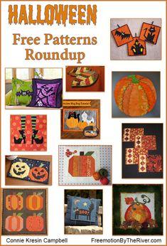 Halloween Roundup of free patterns