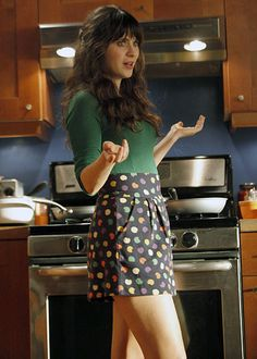 """""""Most Stylish TV Characters"""" Jess Day (Zooey Deschanel), New Girl"""