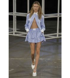 #alexanderwang - cotton playsuit