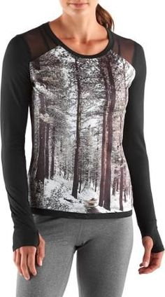 9cedd44275 Oiselle Women's Sarah Attar Muscle Top Black/Knolls Loop Trail Photo 12  Women's Running Shirts
