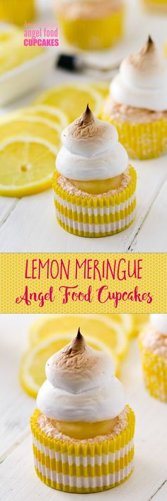 These are so light and summery -- filed with real HOMEMADE lemon pie filling. Totally swooning over that marshmallow meringue. Yum!