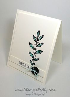 stampin up lighthearted leaves mary fish stampin pretty demonstrator blog
