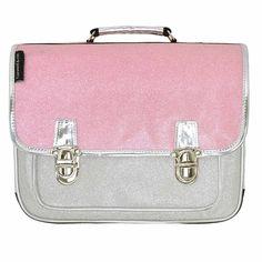 A beautiful childrens school satchel ! Shop at French Blossom.com #cartableenfant #cartable