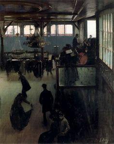 Ramón Casas Carbó: El modernismo catalán en la pintura » Trianarts