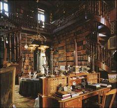 Book lovers' hidden nook.