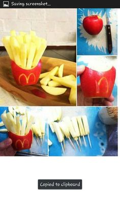 French fry apples!