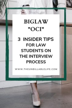 Looking for some insider advice to clear up the confusion of Biglaw OCI (on campus interviews)? Read on for some tips and insider secrets to make the process of job interviewing a little less confusing. Student Interview, Interview Process, Life Lesson Quotes, Life Lessons, Business Motivational Quotes, Business Quotes, Inspirational Quotes, Law School Application, Country Music Quotes