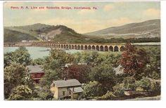 1879 Pennsylvania Railroad Postcard @ Vintage Touch $5.00
