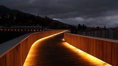 João Luís Carrilho da Graça - Pedestrian bridge over Ribeira da...: