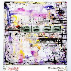 Kiengedni a szellemet a palackból - Abstract forever - punkrose. Mixed Media Art, Essie, Scrapbooking, Layout, Marvel, Journal Ideas, Artwork, Painting, Inspiration