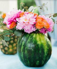 Riciclare cocomeri, meloni e ananas!
