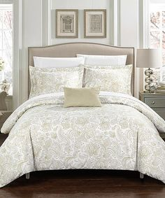 Beige Viceroy Park Duvet Cover Set