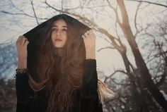 Untitled; Lizzie in the Snow - Oil on Paper, 2010|© Yigal Ozeri