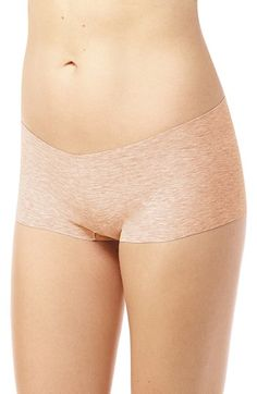 Free shipping and returns on Commando Heathered Cotton Blend Boyshorts at Nordstrom.com. Cut with raw edges for a seamless finish, these soft and breathable panties offer a no-line look under slim dresses and pants.