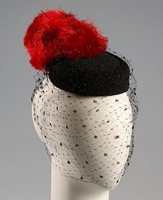 Bill Cunningham. Cocktail pillbox, ca. 1961. The Metropolitan Museum of Art, New York. Brooklyn Museum Costume Collection at The Metropolitan Museum of Art, Gift of the Brooklyn Museum, 2009; Gift of Mrs. Thayer Gilpatrick, 1984 (2009.300.5944)