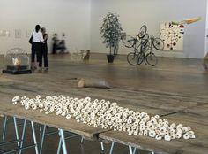 Gabriel Orozco's work at Centre Pompidou, Paris