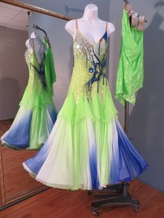 9c8debc32a883 Elle Dance Studio, Inc. » 1363 Smooth/ Standard Ballroom Dance Dresses,  Dance