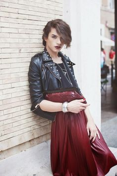 This person has got it going on! Androgynous Models, Androgynous Fashion, Androgynous Clothing, Androgynous Look, Mode Alternative, Alternative Fashion, Mode Queer, Pretty People, Beautiful People