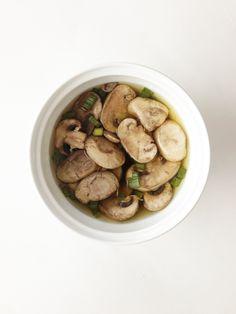 crock pot Japanese mushroom soup