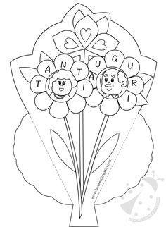כרטיסי ברכה עבור יום הסבא והסבתא עם פרחים All Kids, Grandparents, Easter, Disney, Grandparents Day, Geography, Grandmothers, Grandparent