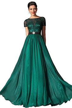eDressit 2014 New Dark Green Short Sleeves Evening Dress Prom Dress (02149605)