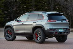 View Jeep Debuts 2014 Easter Safari Concepts: Yes, They're Burly as Hell Photos from Car and Driver. Find high-resolution car images in our photo-gallery archive. New Jeep Grand Cherokee, Lifted Jeep Cherokee, Jeep Wrangler Lifted, Lifted Jeeps, Jeep Wranglers, Jeep Cherokee Trailhawk, Jeep Trailhawk, Auto Jeep, Jeep Cars
